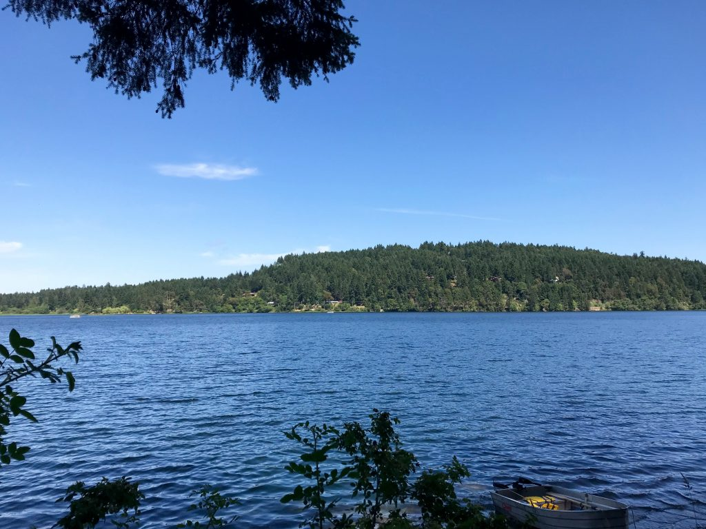 View across Saint Mary Lake